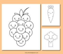 Coloring is essential to the overall. Vegetable Coloring Pages Freebies By Kids Selected Tpt