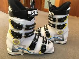 kid ski boot size salomon unisex junior ski boots size 24 24 5 approx shoe size 5 or