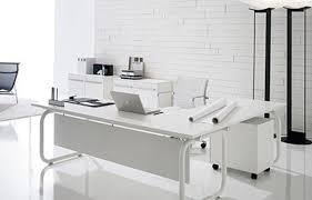 white office design. Beautiful-Stylish-and-Luxurious-Home-Office-Design-in- White Office Design E