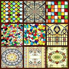 stained glass stickers for windows decorative stained glass windows custom wardrobe doors church decorations for stained glass stickers
