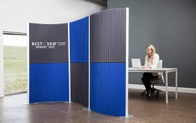 plastic office desk. floor mounted desk partition plastic modular fluowall low iranews office divider panels partitions brisbane screens 0