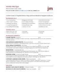 Professional Skills Resume Resume Tips Creative Writing