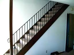 basement stairs railing. Stair Wall Railing Basement Stairs