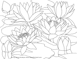 Landscapes Water Coloring Pages Coloring Panda