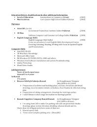 Additional Resume Skills Additional Skills To Add To Resumes Under Fontanacountryinn Com