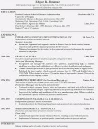 Examples Of Good Resumes That Get Jobs Sample Of A Well Written Mesmerizing Well Written Resume