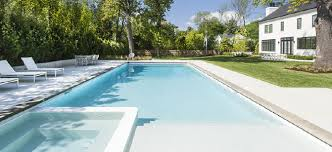 Pool designs Grotto Sunset Pools Spas Clean And Simple Inground Pool Design
