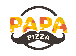 Designer Store Logos Papa Pizza By Designcrate On Dribbble
