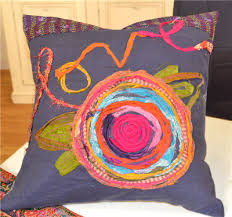 Episode 1403-3: Carrie Bloomston-Love pillow | Carrie, Pillows and ... & Ribbon rosettes Adamdwight.com