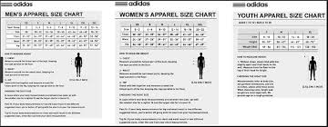 Adidas Youth Size Chart Wantuniforms Com Quality Soccer Uniforms Sizing Chart