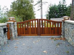 driveway wooden gates glasgow for wood gate