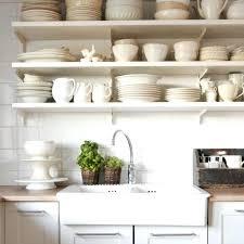open kitchen shelves decorating ideas tips for stylishly stocking that open kitchen shelving open shelf kitchen