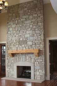 If You Like The Look Of Stonework But The Project Is Daunting Fake Stone Fireplace