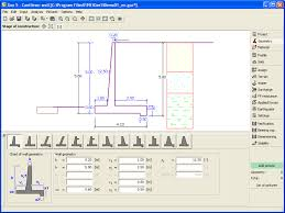 Small Picture Cantilever wall Design and check of cantilever retaining walls