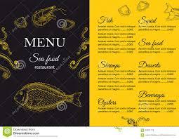 Restaurant Menus Layout Restaurant Menu Design Stock Vector Illustration Of Dining