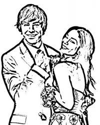 Small Picture High School Musical Coloring Pages High School Musical Coloring