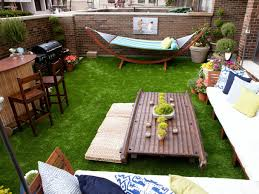 ... Backyard, Outstanding Green Square Rustic Grass Diy Outdoor Ornamental  Equitment Sofa And Chairs Design: ...