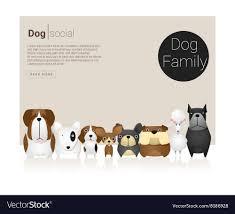 Dog Web Design Animal Banner With Dog For Web Design 6
