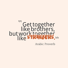 Arabic Wisdom About Togetherness