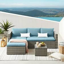 evre outdoor rattan garden furniture