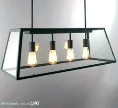 rectangular dining room light. Large Rectangular Dining Room Light Fixtures Pendant Fixture Industrial Chandelier 3 Polished Nickel Lighting Recta