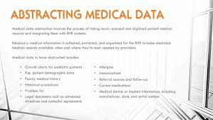 66 Skillful Medical Chart Abstraction Definition