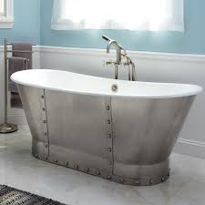 stunning stainless steel bathtub with home depot free standing tubs and 54 inch bathtub home depot