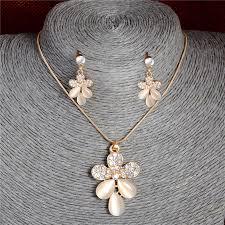 Beautiful <b>Delicate</b> Cat's Eye Stone Decoration Jewelry Set <b>Fashion</b> ...