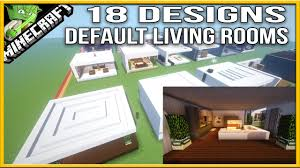 Minecraft Living Room Designs Minecraft 18 Living Room Designs Default Youtube