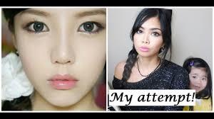 korean doll eye makeup tutorial cosmeticstutor org