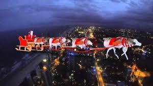 real santa claus and reindeer flying. Inside Real Santa Claus And Reindeer Flying