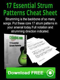 Free Download 17 Essential Strum Patterns Pdf In 2019