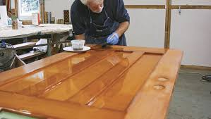 exterior wood floor finish. finishing an exterior door, ep. 7: applying the varnish wood floor finish n