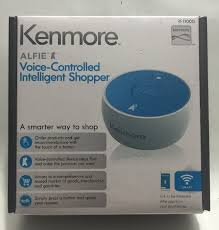 kenmore alfie. kenmore alfie voice controlled intelligent shopper just ask