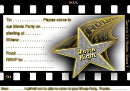 Movie Night Invitation Template Free Cdeadfeecd Movie Night Invitations Printable Invitations Perfect