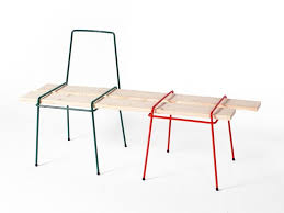 wire furniture. Wire Frames That You Turn Into Furniture With Your Own Wood: Drahtbank5 R