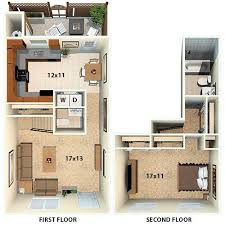 Townhomes  Floor Plans For New Townhomes In Marin CATownhomes Floor Plans