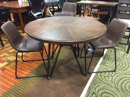 ashley furniture centiar dining table set