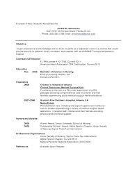 Graduate Nurse Resume Samples New Nurse Resume Template Best Of ...