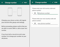How To Change Your Phone Number How To Use Whatsapp With New Phone Number On Iphone And Android