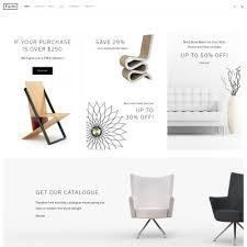 40 Best Furniture Website Templates TemplateMonster Impressive Furniture Website Design