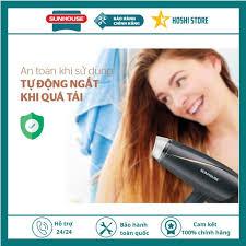 Máy sấy tóc chính hãng SUNHOUSE SHD2306 siêu đẹp, bảo hành toàn quốc 12  tháng - Máy sấy tóc