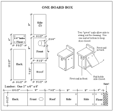 Free Bluebird House Plans   Multiple Designs