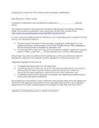 Cover Letter Apa Journal Paulkmaloney Com