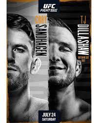 UFC Fight Night – Sandhagen vs ...