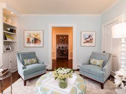 Yellow Chairs Living Room Living Room Gray Rug White Futons White Pendant Lights Gray Sofa