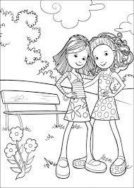 Groovy Girls Kids N Fun Coloring Page Kleurplaat Dutch Site With