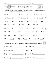 also Integers Worksheets additionally Integer Worksheets by Math Crush additionally 3rd Grade Math Ordering numbers from  10 to 10 as well Grade 7 Math Integers Worksheets percent fraction decimal as well Adding and Subtracting Integers Worksheet   Math Printables additionally Negative Number Worksheets moreover Printables  Integer Operations Worksheets  Agariohi Worksheets additionally Math Worksheets Negative And Positive Integers   worksheet ex le furthermore  additionally Integers Worksheets. on math integers worksheets