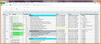 Simple P L Excel Template Project Plan Outline Template Free Simple Download
