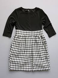 Blush By Us Angels Girls Houndstooth Dress Size 7